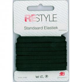 ReStyle Super Elastiek, 10m/4,5mm, zwart