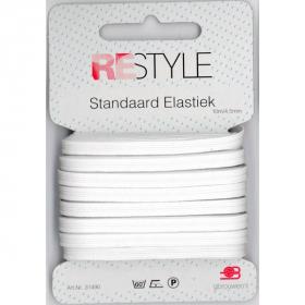 ReStyle Super Elastiek, 10m/4,5mm, wit