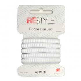ReStyle Ruche Elastiek, 2m/10mm, wit