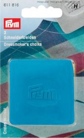 kleermakerskrijt geel/blauw