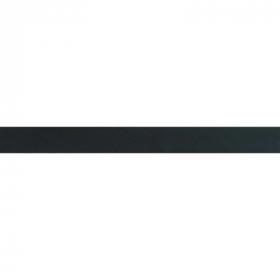 donkergrijs biaisband satijn