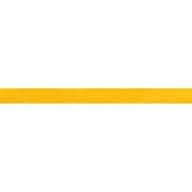geel biaisband satijn
