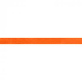 oranje biaisband satijn
