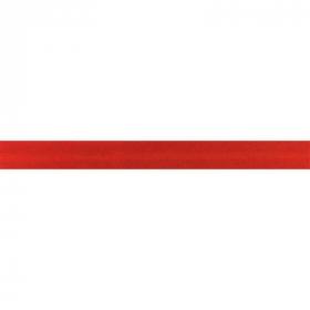 rood biaisband satijn