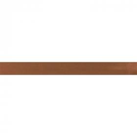 bruin biaisband satijn
