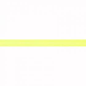 lichtgeel biaisband satijn
