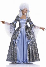 Rococo jurk (maat 36-52), Burda 2447
