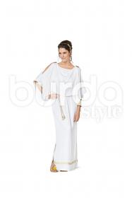 Romeinse en Egyptische dame (maat 32-44) Burda 2353