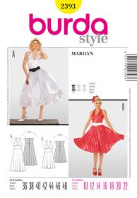 Marilyn Monroe (maat 36-48), Burda 2393