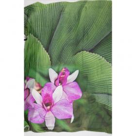 groen roze zijde Roberto Cavalli