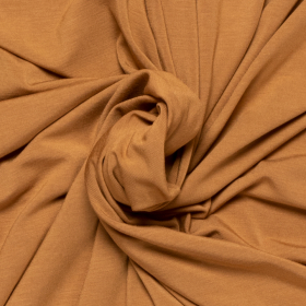 camel stretch tricot van bamboe