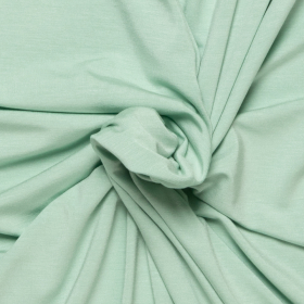 mint stretch tricot van bamboe