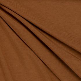 caramel stretch tricot van bamboe