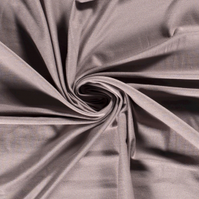 taupe stretch tricot van bamboe en katoen