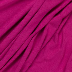 fuchsia stretch tricot van bamboe