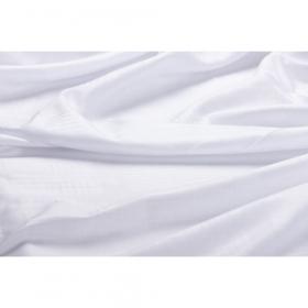 witte damast met ruit 155 cm.breed
