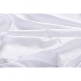 witte damast 155 cm.breed