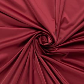 burgundy rood satijnkatoen met stretch italiaans import