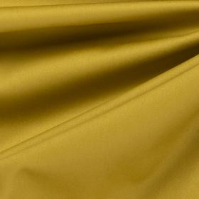 goud olijf satijnkatoen met stretch