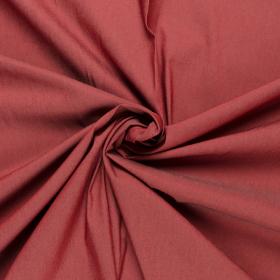 soft rood stretch denim