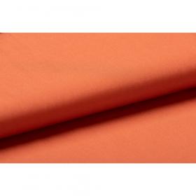 warm oranje GOTS poplin katoen