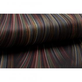 zwart punta di roma multicolor fijn gestreept italiaans import