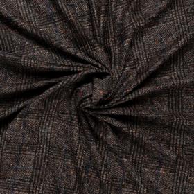 geruit tweed jersey italiaans import