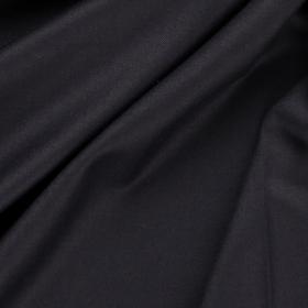 zwart wool touch stretch