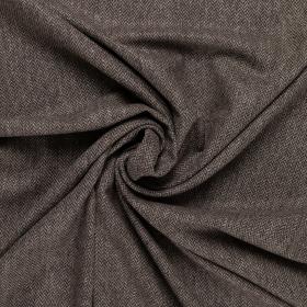 bruin taupe visgraat tweed