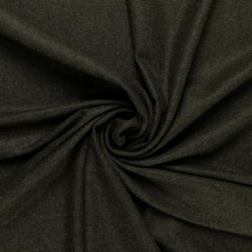 donkergroen Shetland tweed