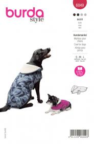 hondenjasje (maat S-M-L) Burda 6049