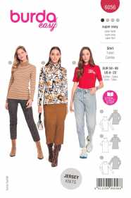 shirt (maat 34-48) Burda 6056