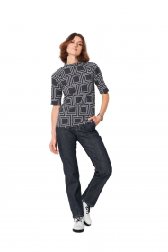 shirt (maat 34-44) Burda 6067