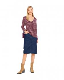 jurk en shirt (maat 34-44) Burda 6075