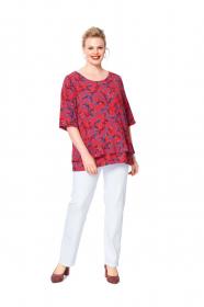 shirt (maat 44-54) Burda 6105