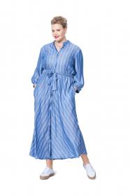 blouse en jurk (maat 44-54) Burda 6108