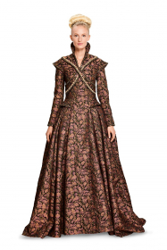 renaissance jurk (maat 34-44) Burda 6398