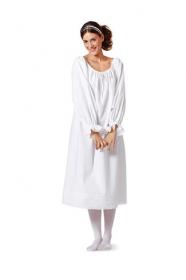 Onderjurk, corset en lange onderbroek voor onder historische kostuums (maat 36-50), Burda 7156