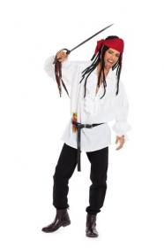 Piraat 'Captain Jack Sparrow' (maat 48-58), Burda 7332