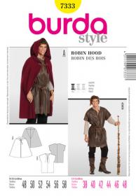 Robin Hood (maat 48-58), Burda 7333