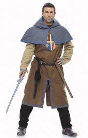 Musketier en schildknaap (maat 48-60), Burda 7976