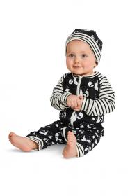 babypakje, mutsje en hoofdband (maat 56-86) Burda 9328