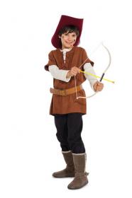 Robin Hood (maat 122-170), Burda 9472