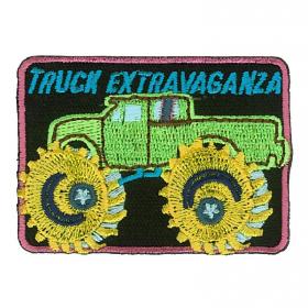 strijk embleem monster car truck