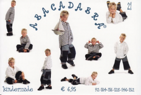 Vest, blouse en broek (maat 92-152), Abacadabra 21