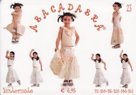 Top en rok (maat 92-152), Abacadabra 23