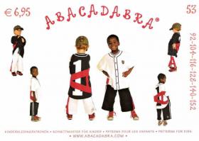 Broek en shirt (maat 92-152), Abacadabra 53