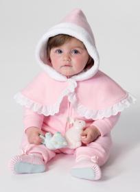 Cape, vest en babypakje (maat 50-74) Butterick 6372