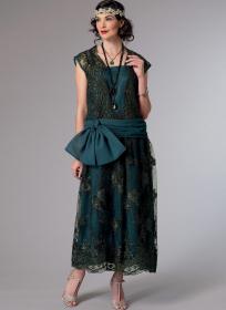 historische jurk (maat 40-48) Butterick 6399