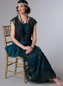 historische jurk (maat 32-40) Butterick 6399